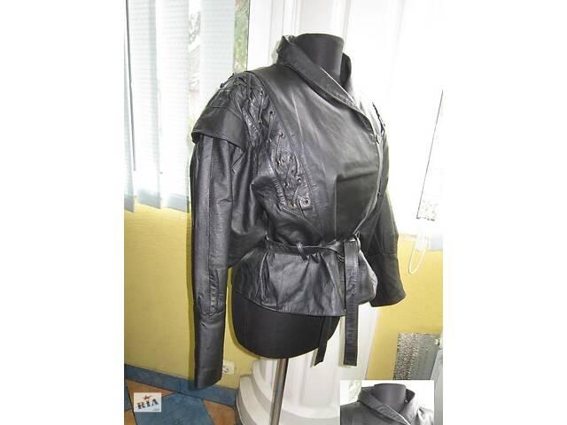продам Крутая женская кожаная куртка-косуха C&A.  Лот 156 бу в Ужгороде