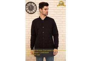 Куртка чоловіча стеганая демісезонна колір Чорний 129R5699