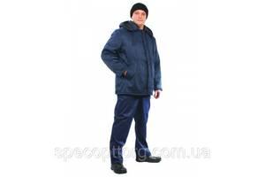 Куртка рабочая утепленная Оптима темно-синяя