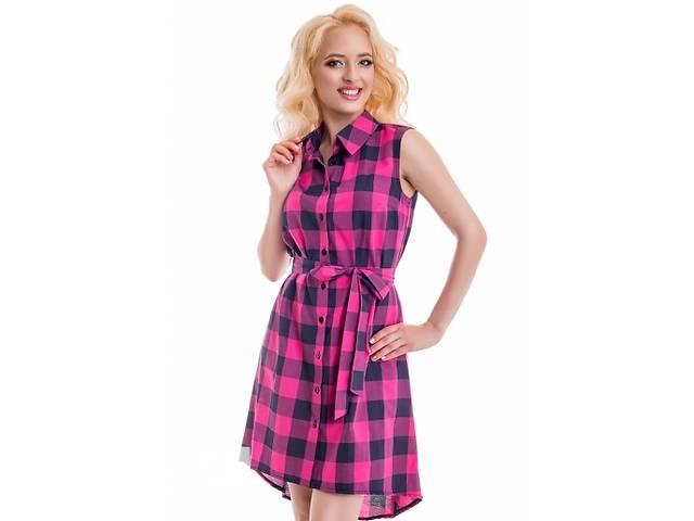 Літнє плаття в клітку 44. 46. 48. - Жіночий одяг в Мелітополі на RIA.com e8deede5767d9