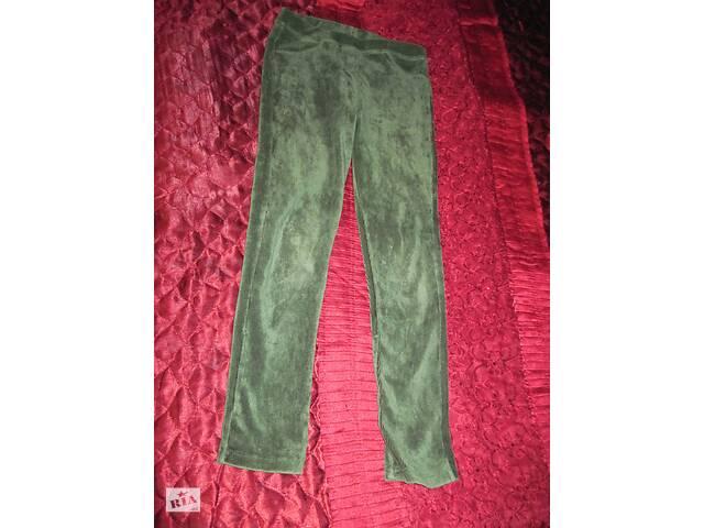 бу Лосины зеленые вельвет в резиночку в Полтаве