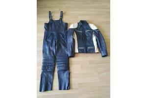 Мотокостюм жіночий фірми POLO, шкіряний (куртка + комбінезон)