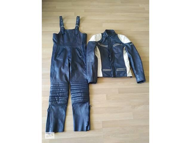 Мотокостюм жіночий фірми POLO, шкіряний (куртка + комбінезон)- объявление о продаже  в Ивано-Франковске