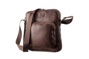 Мужская кожаная сумка SHVIGEL 19112 Коричневая