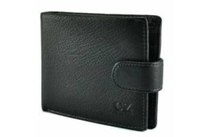 Мужское портмоне Horton Collection TR910A, кожаное, черное