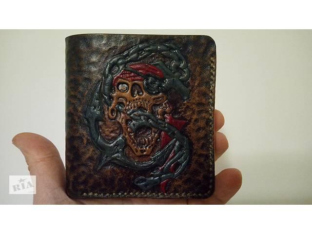 Мужское портмоне из кожи- объявление о продаже  в Запорожье