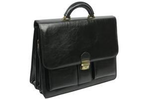 Мужской деловой портфель из эко кожи 4U Cavaldi. Уценка!