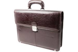 Мужской портфель для бумаг из эко кожи JPB, TE-29 коричневый