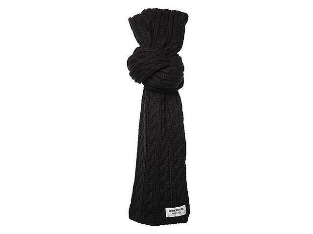 Мужской шарф 190х18 см Quiksilver Warner M NKWR Anthracite 888256497733- объявление о продаже  в Киеве