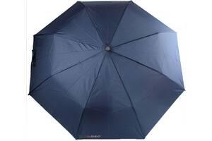 Мужской зонт автомат H Due O синий
