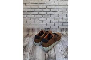 Мужские кожаные кроссовки 00626