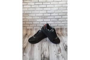 Мужские кожаные кроссовки 00636