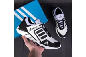 Мужские кожаные кроссовки Adidas Terrex White