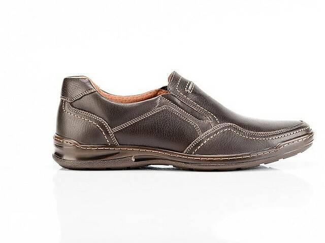 купить бу Мужские кожаные туфли Comfort Walk brown в Днепре (Днепропетровск)