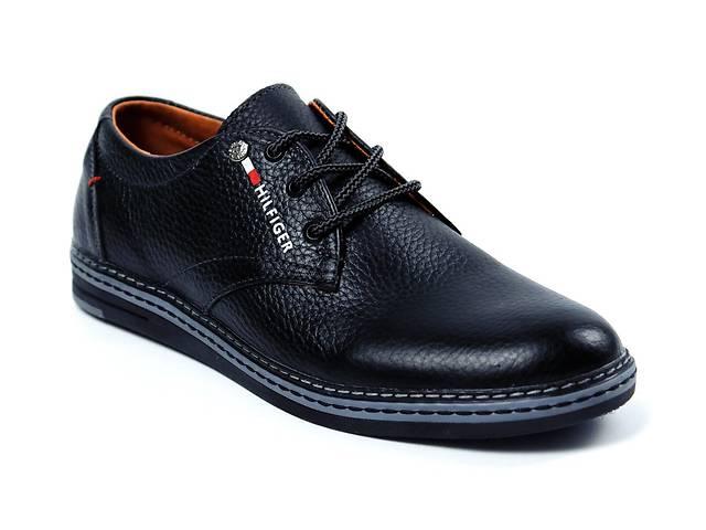 купить бу Мужские кожаные туфли Tommy HF (реплика) в Днепре (Днепропетровск)