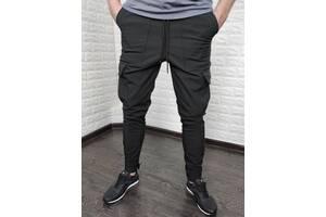 Мужские штаны карго SoftShell на флисе
