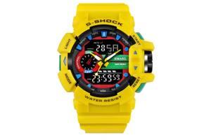Мужские спортивные часы SMAEL Желтый
