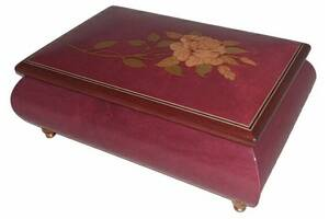 Музыкальная шкатулка для украшений Ercolano Rose