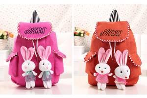 Милые рюкзаки с зайчиками
