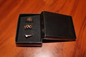 Набор колец для пальцев стопы (3 шт.)