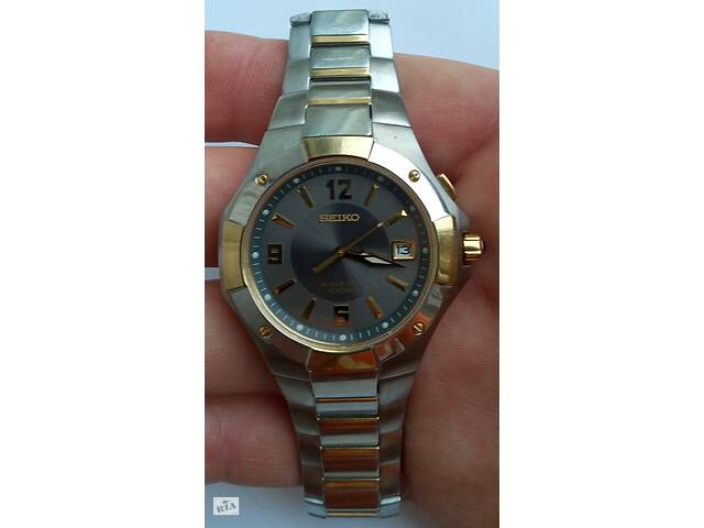 бу Наручные часы Seiko Kinetic Sapphire 100m 5M62 (оригинал Япония) в Виннице
