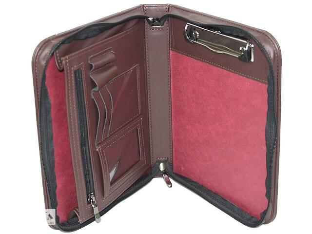 Небольшая деловая папка формата А5 Portfolio Portbw08 коричневая
