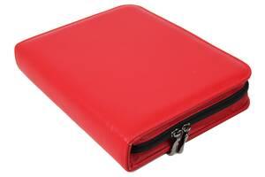 Небольшая деловая папка формата А5 из эко кожи Portfolio Portbw08 красная