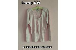 Нежная розовая кофта