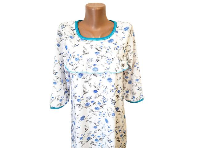 купить бу Ночные рубашки женские на байке хлопок р.54,56,58,60. От 4шт по 119грн. в Александрие