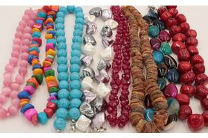 Нитки з камінням,кулони,чотки,намисто,браслети з натуральних каменів