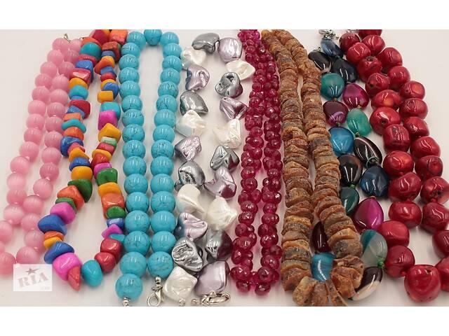 купить бу Нити с камнями,кулоны,четки,бусы,браслеты из натуральных камней в Одессе