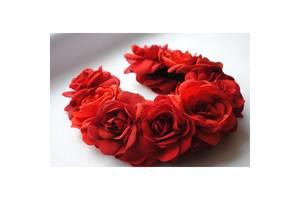 Ободок Червона троянда