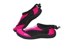 Обувь для пляжа и кораллов аквашузы SportVida Size 33 Black/Pink SKL41-277857