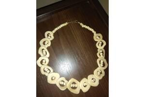 Оригинальное натуральное ожерелье из зубов верблюда