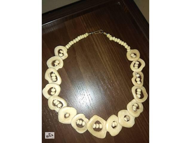 Оригинальное натуральное ожерелье из зубов верблюда- объявление о продаже  в Харкові