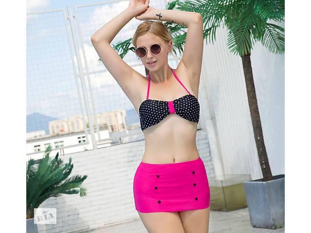 Оригинальный яркий купальник трусики-юбка- объявление о продаже  в Хмельницком