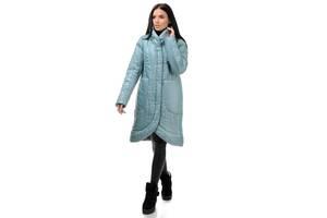 Пальто женское зимнее  A.G. 256 «Виола» мята 50