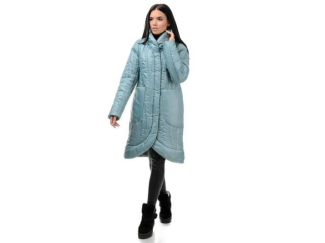 бу Пальто жіноче зимове A. G. 256 & laquo; Віола & raquo;м'ята 44 в Києві