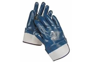 Перчатки нитриловые  МБС (твердый манжет)