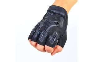 Перчатки тактические с открытыми пальцами Mechanix L(р)