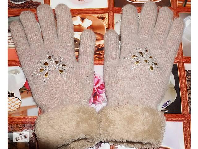 Перчатки женские зимние теплые (ангора) двойные- объявление о продаже  в Ивано-Франковске