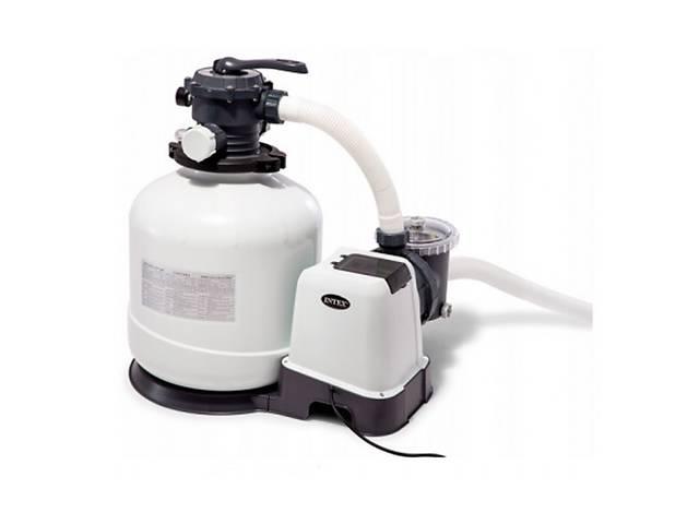 продам Песочный фильтр насос Intex 26652 10000 л/ч бу  в Украине