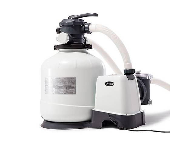 купить бу Песочный насос-фильтр-хлоргенератор Intex 26676 6000 л/ч 7 г/ч в Одессе