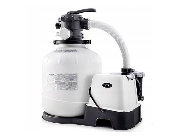купить бу Песочный насос-фильтр-хлоргенератор Intex 26680 8000 л/ч 11 г/ч в Одессе