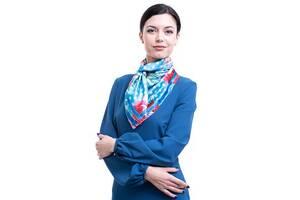 Платок большой AMO Платок женский шелковый 90*90 см AMO  STAMOp90902