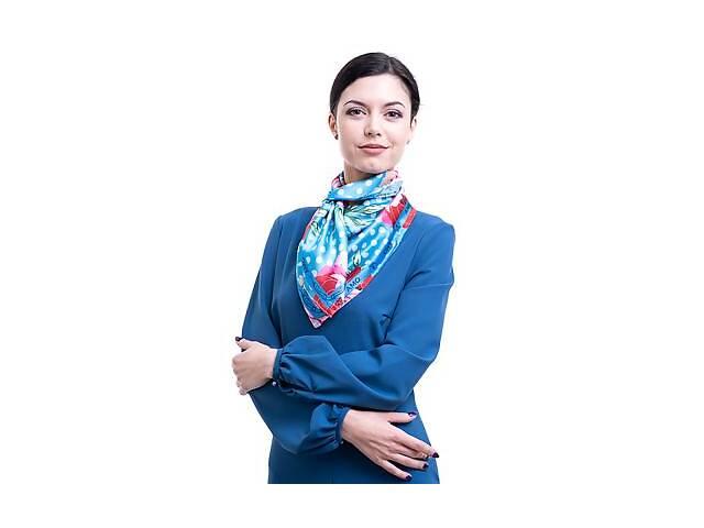купить бу Платок большой AMO Платок женский шелковый 90*90 см AMO  STAMOp90902 в Одессе