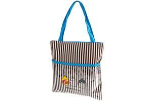 Пляжна сумка Valiria Fashion Жіноча пляжна тканинна сумка VALIRIA FASHION 3DETAL1814-2