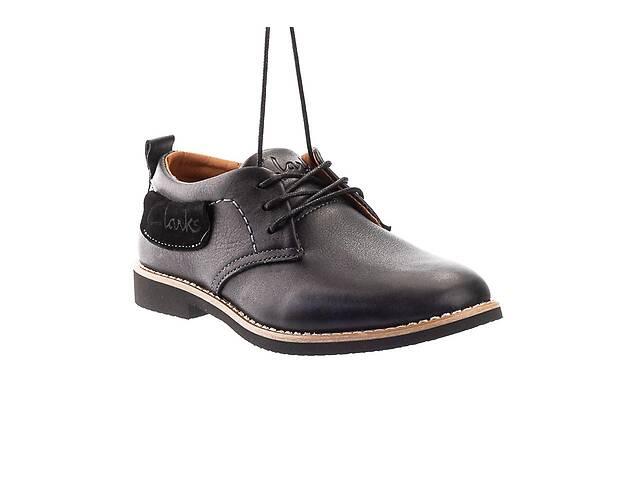 бу Подростковые туфли кожаные весна/осень черные Yuves М6 в Хмельницком