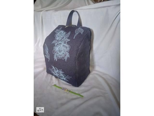 Продается рюкзак ручной работы из плащевой ткани- объявление о продаже  в Харькове