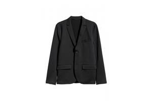 Пиджак шерстяной HM 56 черный 4973706RP5